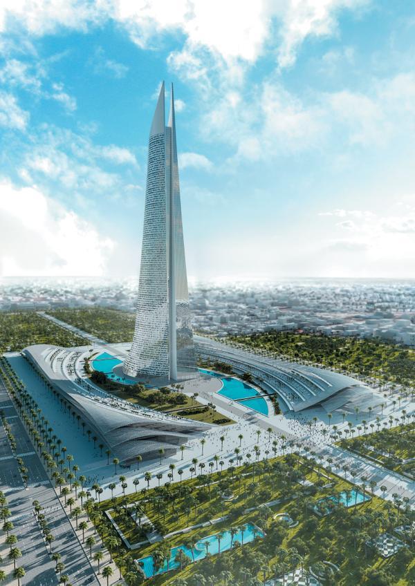 A Al-Noor, a torre mais alta de África, vai nascer em Marrocos