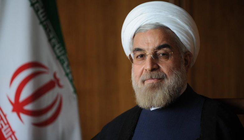 O presidente do Irão, Hassan Rohani