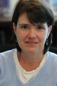 A investigadora Fiona Harrison