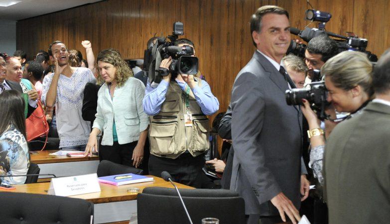 Jair Bolsonaro, deputado federal pelo Partido Progressista brasileiro