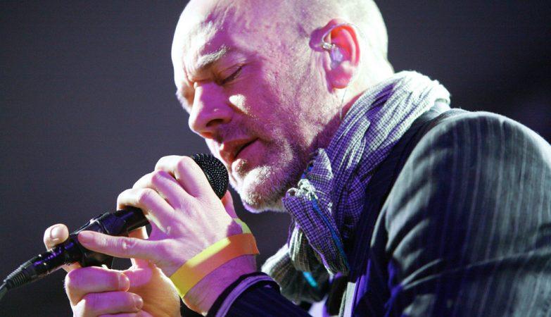 Michael Stipe, ex-vocalista dos R.E.M.