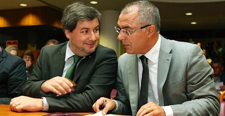 Bruno de Carvalho e Augusto Inácio