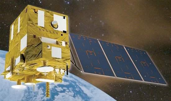 O satélite cino-brasileiro CBERS-4