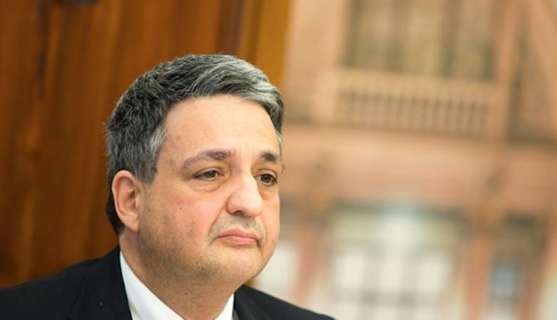 O Ministro da Saúde, Paulo Macedo