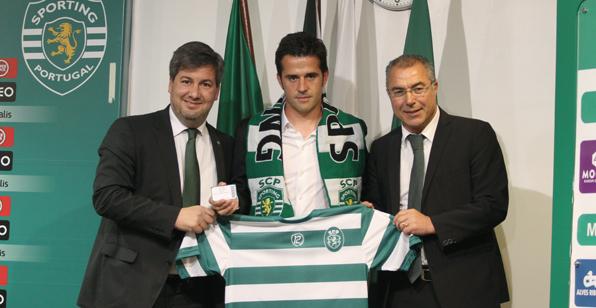 Bruno de Carvalho, Marco Silva, Augusto Inácio: presidente, treinador, director desportivo do Sporting