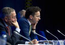 O presidente do Eurogrupo, o holandês Jeroen Dijsselbloem,