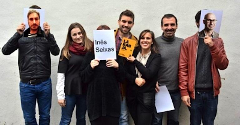 A equipa: Raúl Pinto, Beatriz Martins, Inês Seixas (apenas como nome), André Silva, Teresa Franqueira, Rui Costa, Pedro Almeida