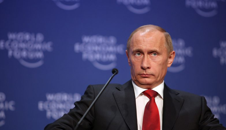 Vladimir Putin no World Economic Forum - Davos 2009