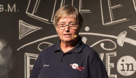 A investigadora responsável pelo ROSINA, Kathrin Altwegg