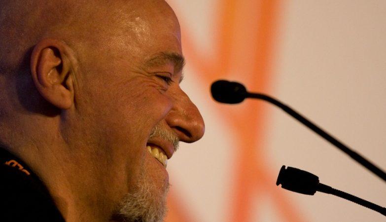 O escritor brasileiro Paulo Coelho