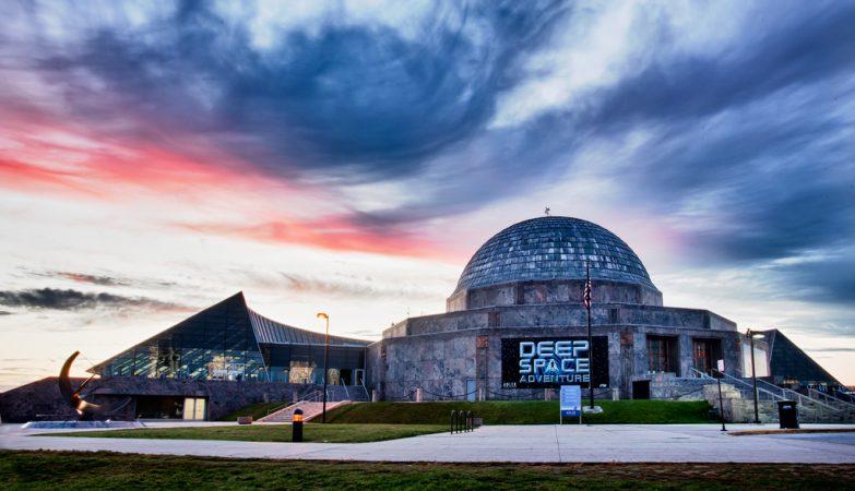 Planetário Adler, em Chicago, o mais antigo da América