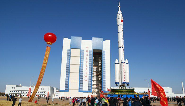Foguetão Longa Marcha 2F da agência espacial chinesa