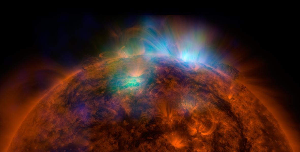 As imagens de raio-X do Nustar podem ajudar os cientistas a desvendar mistérios relativos à física solar