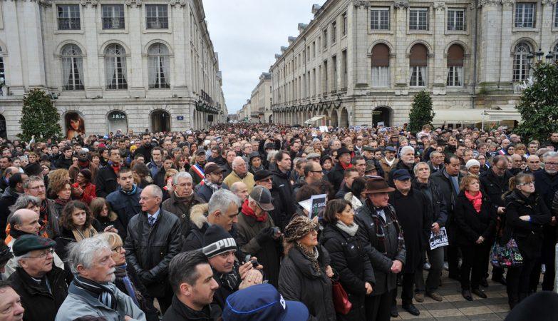 Je Suis Charlie, manifestação de 10 de Janeiro 2015 em Paris