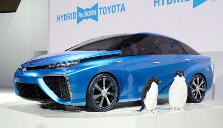 O novo Toyota Mirai