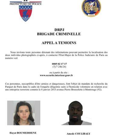 Alerta Policial: Atentado Porte Vincennes