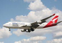Boeing 747 da australiana Quantas