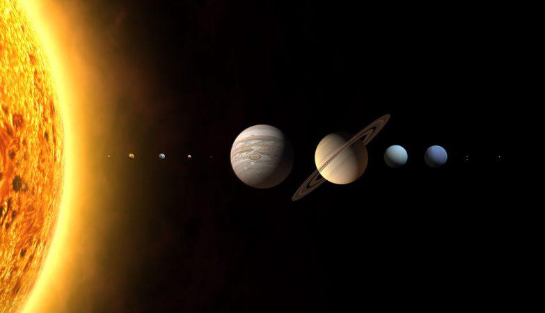 O novo Sistema Solar?