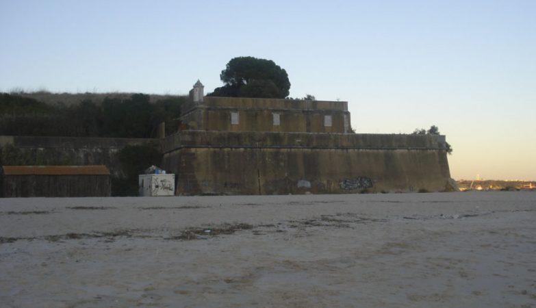 Forte de Albarquel, em Setúbal