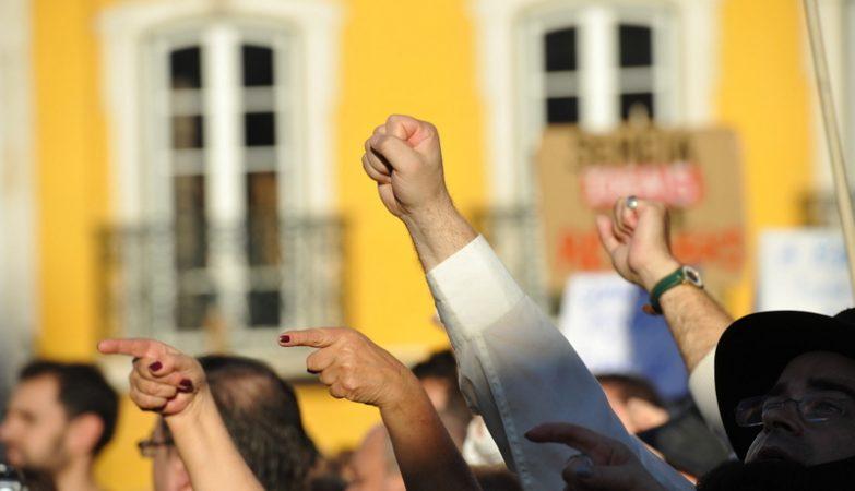 """Manifestação """"Que se lixe a troika"""""""