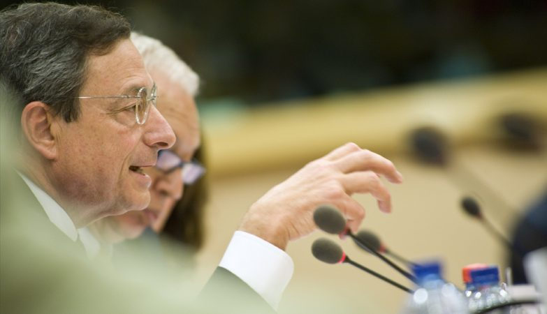 Mario Draghi, presidente do BCE, Banco Central Europeu