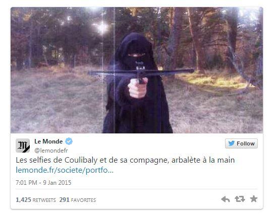 Le Monde revela fotos de Hayat Boumeddiene