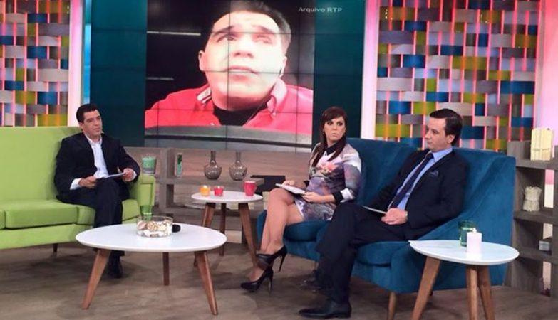 Afonso Dias, condenado no caso Rui Pedro, entrevistado no Agora Nós da RTP