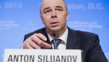 Antón Siluanov, ministro das Finanças da Rússia