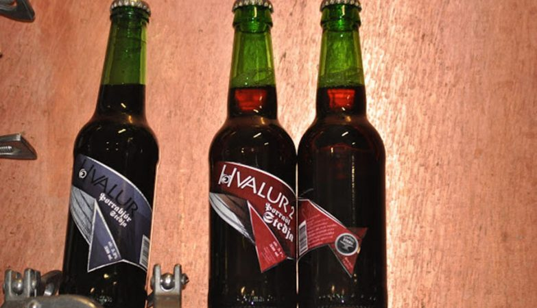 Cerveja com testículos de baleia