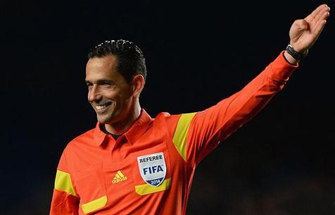 O árbitro Pedro Proença