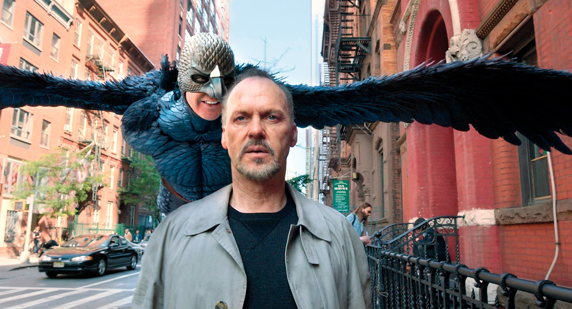 "Michael Keaton em ""Birdman"", de Alejandro G. Iñárritu"