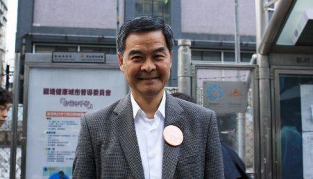 CY Leung, líder nomeado por Pequim para Hong Kong