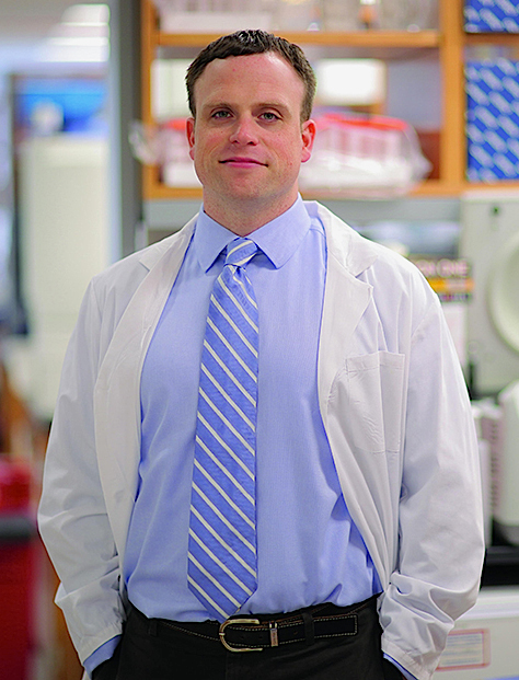 O professor Christopher E. Mason,investigador do Weill Cornell Medical College