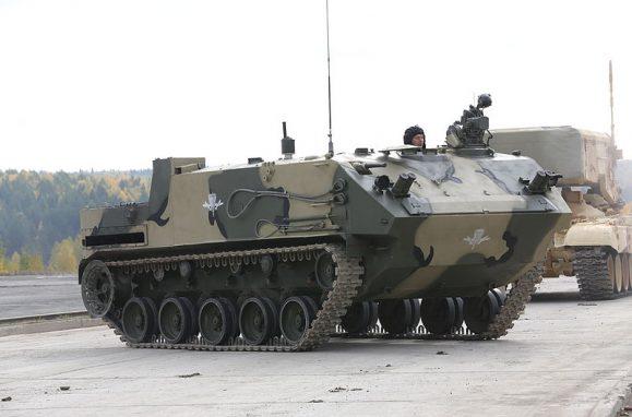 Novo veículo blindado de transporte de tropas BTR-MDM Rakushka-M do Exército da Rússia