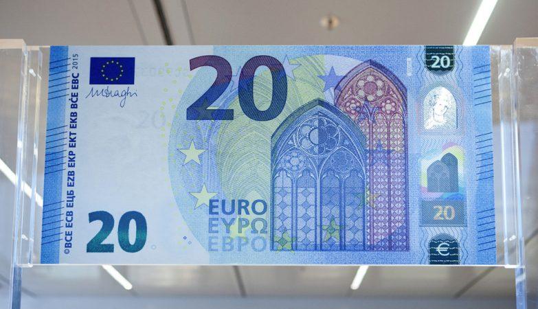 A nova nota de 20 euros, que será lançada a 25 de novembro