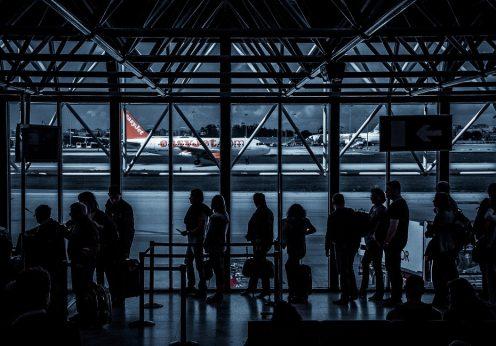 Aeronave da EasyJet no Aeroporto da Portela, em Lisboa