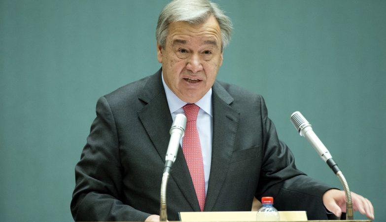 O Alto Comissário das Nações Unidas para os Refugiados, António Guterres