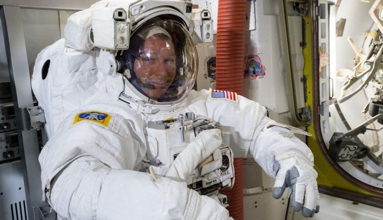 O astronauta norte-americano Terry Virts