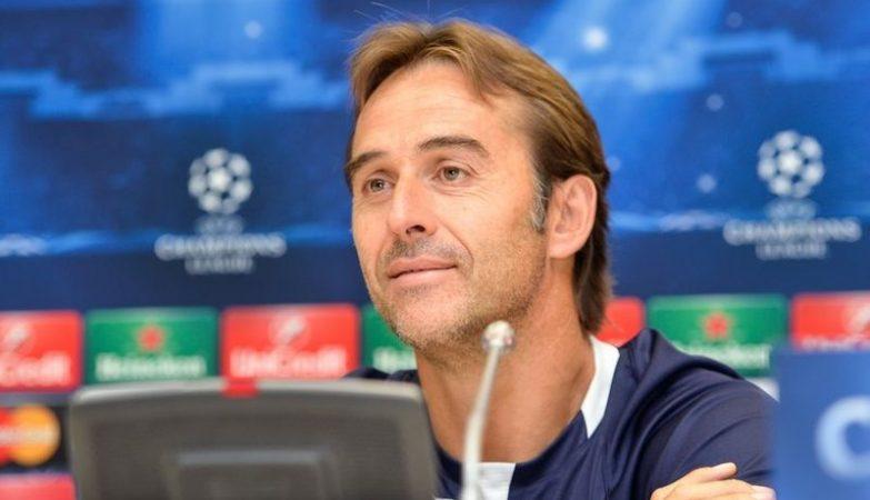 O treinador do FC Porto, Julen Lopetegui