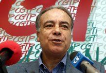 O ex-secretário-geral da CGTP, Manuel Carvalho da Silva