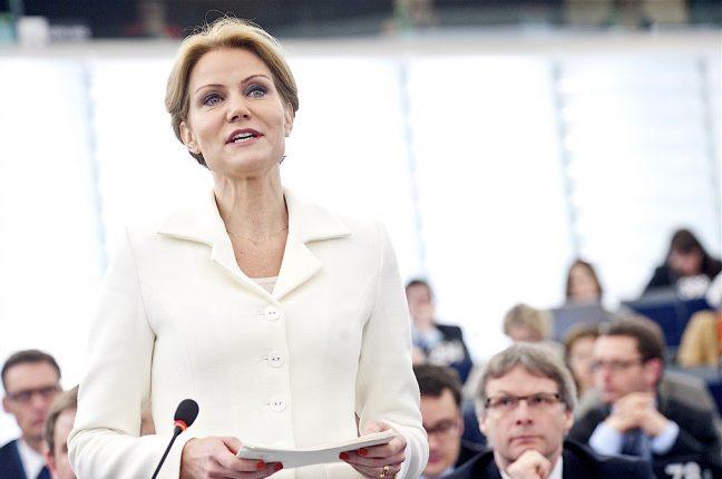 A primeira-ministra da Dinamarca, Helle Thorning-Schmidt