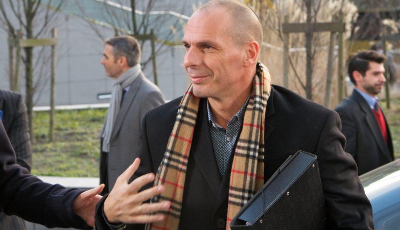 Yanni Varoufakis, ministro das Finanças da Grécia