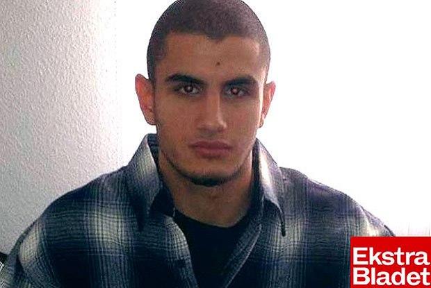 Omar El-Hussein, 22 anos, dinamarqiês de origem palestiniana, autor do atentado de Copenhaga