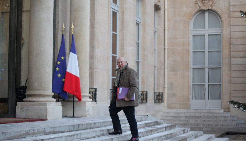 O ministro das Finanças da França, Michel Sapin