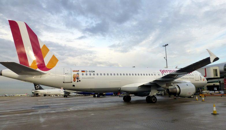 Avião Airbus A320 da Germanwings