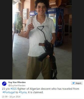 Abu al-Faruq, adolescente português na Síria