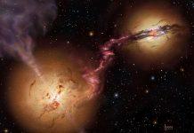 Galáxias em colisão revelam que os buracos negros nos primórdios do Universo eram comuns