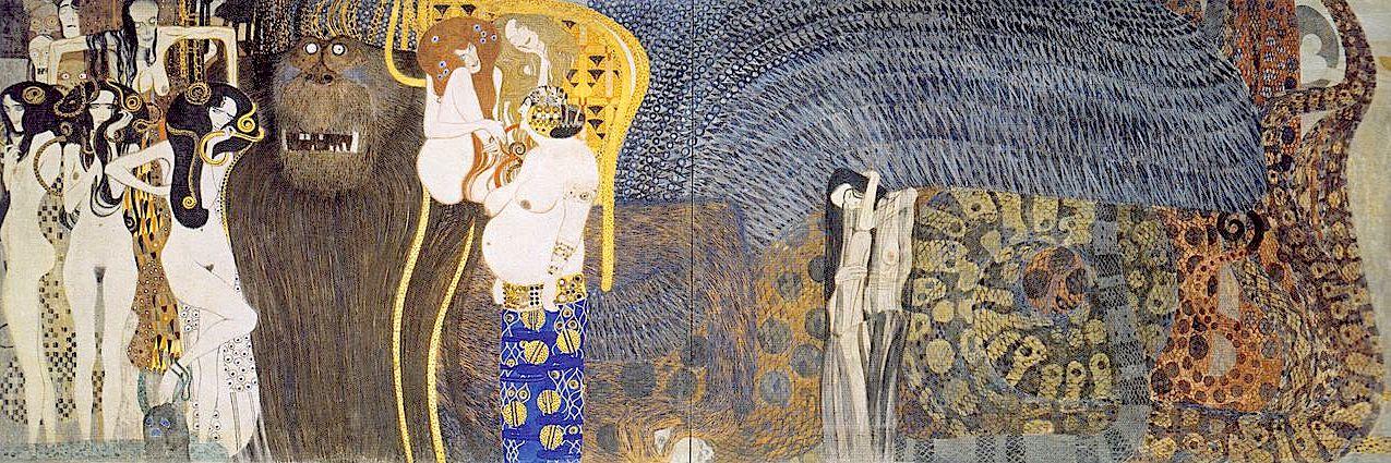 O Friso de Beethoven, Gustav Klimt, 1902
