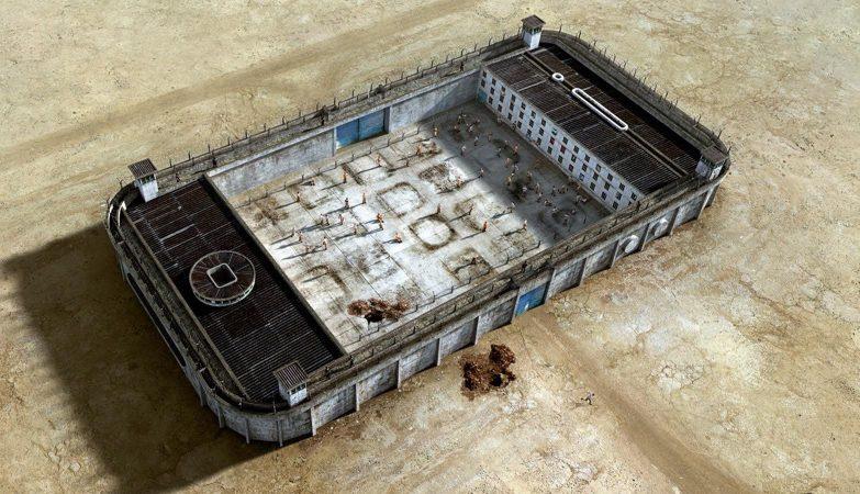 """""""iPhone"""", ilustração de Felipe Luchi para campanha """"Jailhouses"""" da revista Go Outside"""