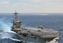 Porta-aviões USS Theodore Roosevelt da marinha dos Estados Unidos